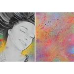 impression tableau art joy toile couleur contemporaine 7