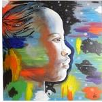 tableau ethnique afrique femme africaine