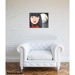 tableau art artiste contemporain luna