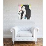 tableau art artiste contemporain femme