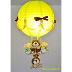lampe montgolfière jungle