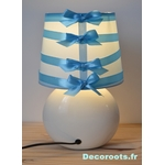 lampe chevet garçon bleu pastel turquoise 2