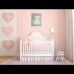 tableau enfant bebe ours peluche gris et beige mixte décoration chambre 2