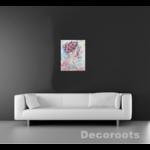 tableau design contemporain zen nature flora salon