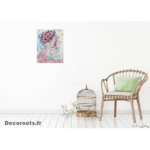 tableau design contemporain zen nature flora salon 2