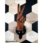 patère bois original fait main design porte manteau 2