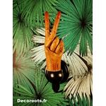 patère bois original fait main design porte manteau 3