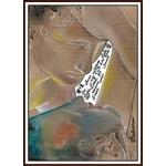 dessin art amour et psychée canova fusain pastel carton couleur