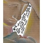dessin art amour et psychée canova fusain pastel carton couleur 2
