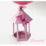 lampe enfant bébé fille rose papillon décoration