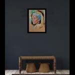 dessin art contemporain portrait femme afrique martinique madinina