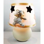 lampe-chevet-enfant-bebe-ours-beige-chocolat-blanc-cadeau-naissance-artisanale-mixte