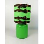 lampe chevet enfant bébé hibou foret nature vert chocolat marron 2