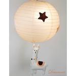 lampe enfant bébé lama mixte beige marron chocolat blanc luminaire