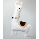 lampe enfant bébé montgolfiere lama mixte beige marron chocolat blanc luminaire