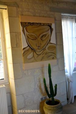 tableau bouddha zen 1