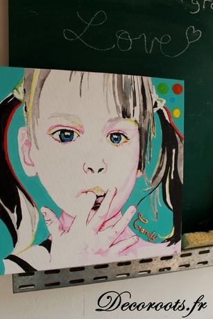 tableau art enfant