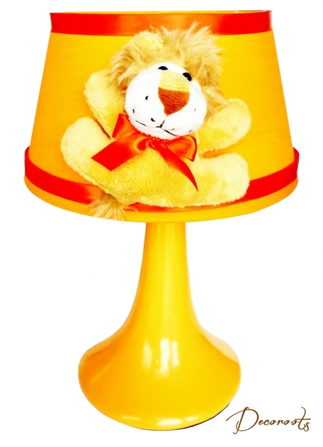 Lampe de chevet enfant b b jungle lion orange enfant b b luminaire enfant b b decoroots - Lampe de chevet enfant ...