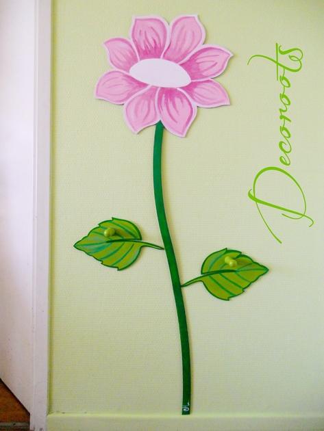 porte manteau fleurs de printemps enfant b b objet d coratif enfant b b decoroots. Black Bedroom Furniture Sets. Home Design Ideas