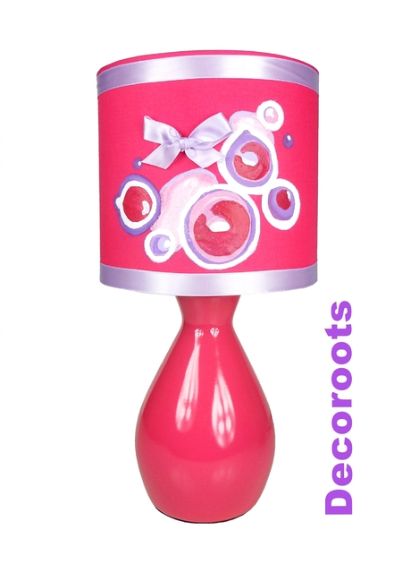 Bébé Bubble Collection Fille RoseDécoration Chambre Enfant Lampe OTPkXuiZ
