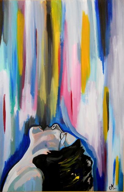 Tableau art contemporain luxure calme et volupt art for Tableau art contemporain design decoration