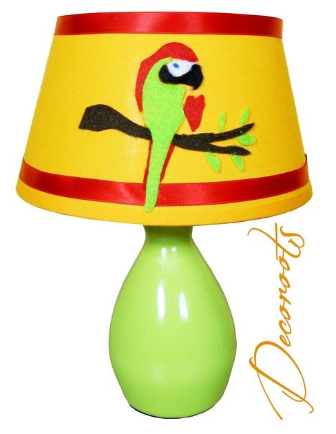 Lampe de chevet enfant b b jungle coco le perroquet - Lampe de chevet bebe ...