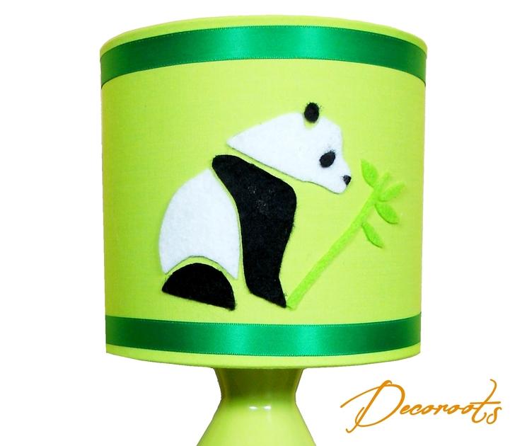 Lampe de chevet enfant b b pampy le panda vert enfant - Lampe de chevet bebe ...