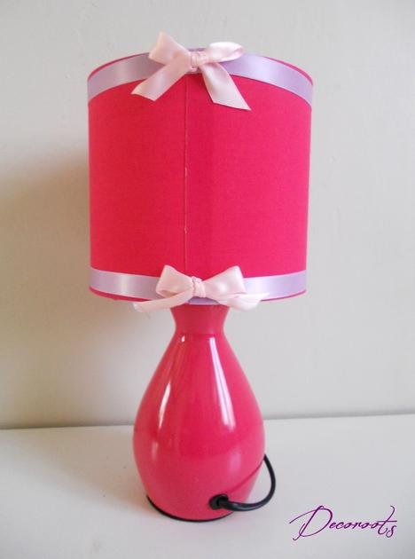 lampe de chevet enfant b b papillon rose cadeaux de naissance cadeaux de naissance bapt me. Black Bedroom Furniture Sets. Home Design Ideas