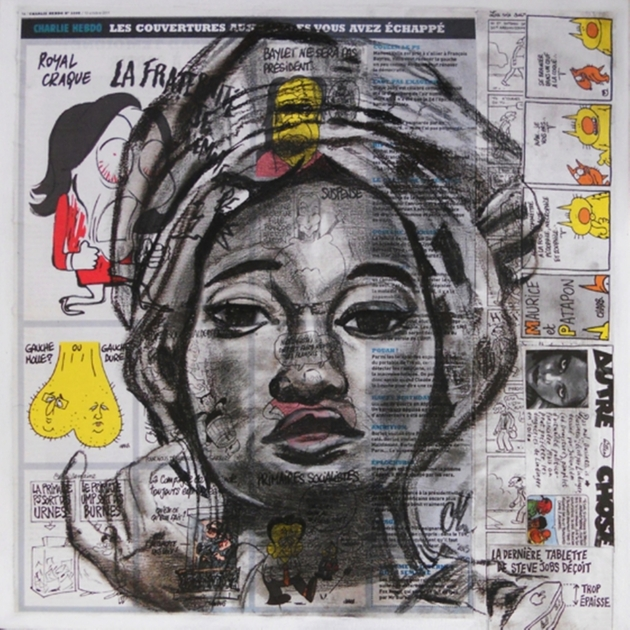 Affiche reproduction roots africa affiches reproduction design contemporain - Tableau ethnique contemporain ...