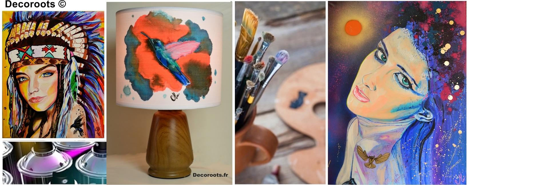 Art design contemporain tableau art design abstrait et for Art contemporain abstrait