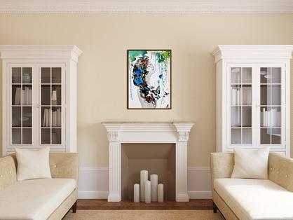 affiche poster à encadre cadre décoration salon