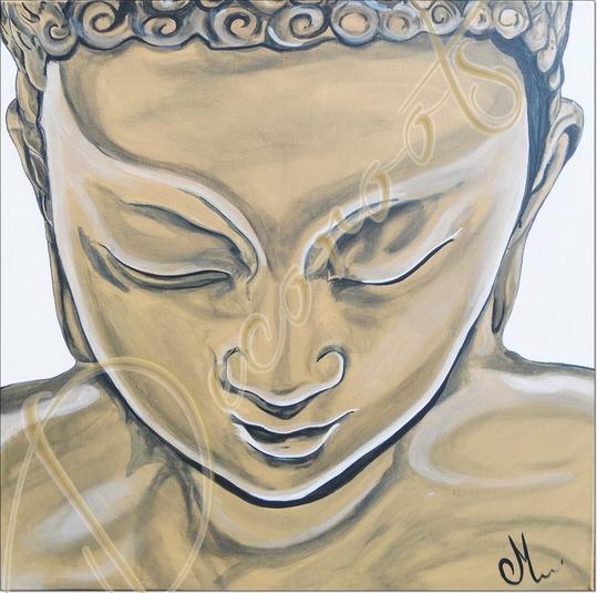 Nouveaut s zen et nature bouddha et fleurs enfin on respire actualit s - Tableau ethnique contemporain ...