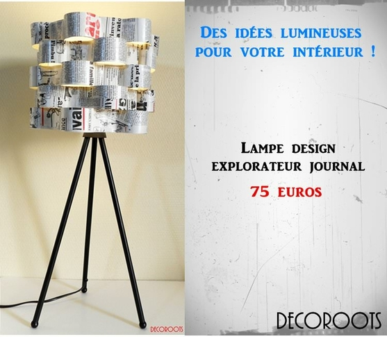 art design contemporain luminaire et objet design decoroots. Black Bedroom Furniture Sets. Home Design Ideas