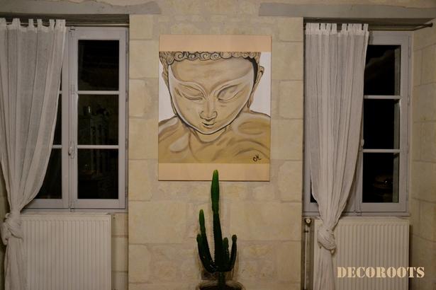 tableau bouddha 3