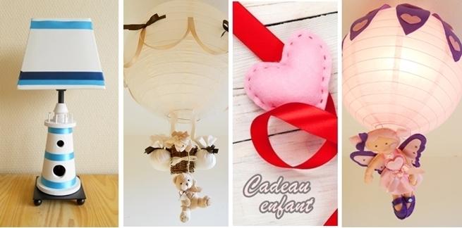 décoration enfant bébé luminaire lampe