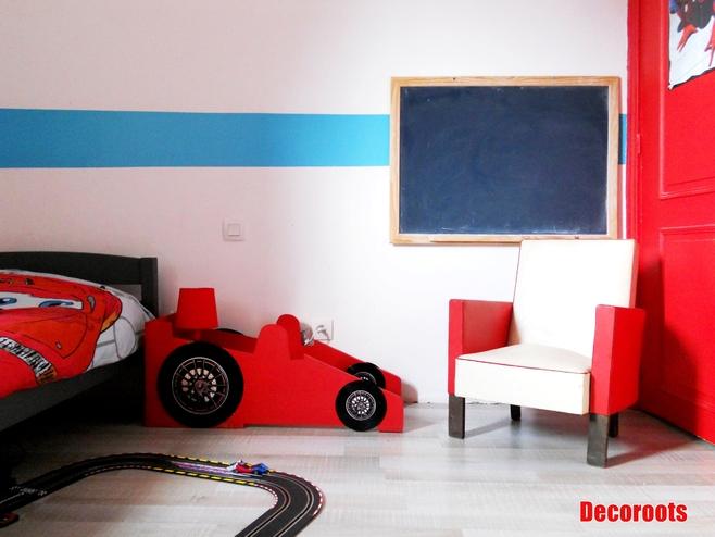 Idee deco chambre garcon theme voiture - Deco chambre enfant voiture ...