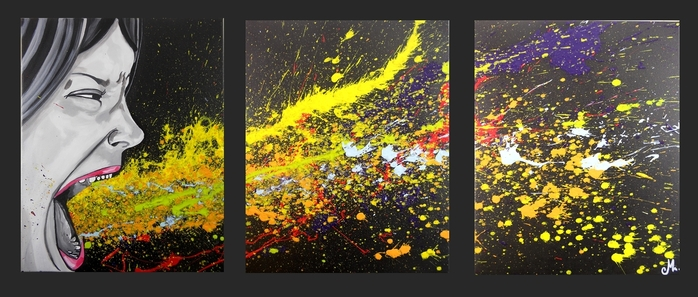 tableau-design-contemporain-triptyque-moderne-art-artiste-listen-me-decoration