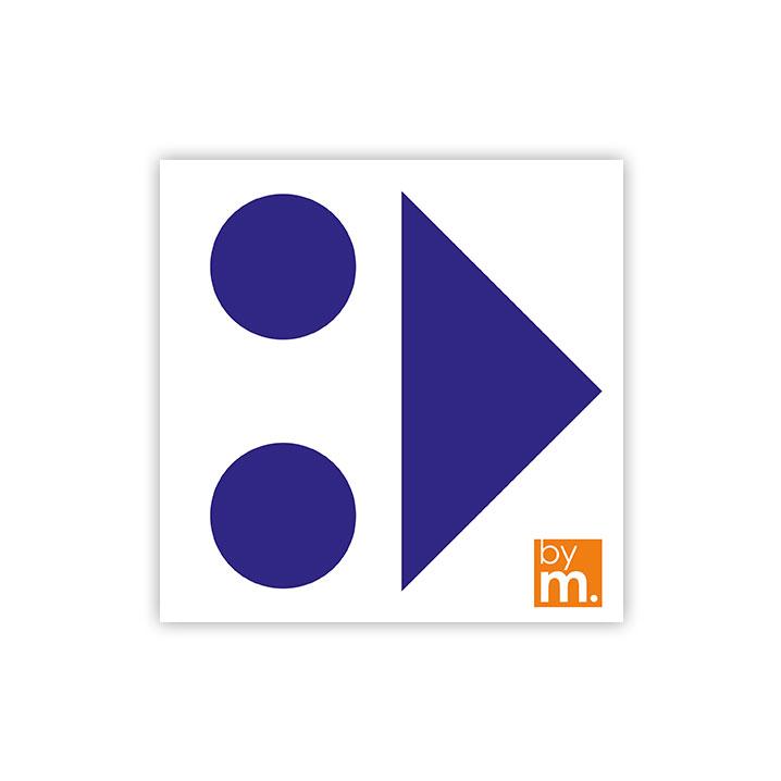 Fleche-de-direction-1515-bleue