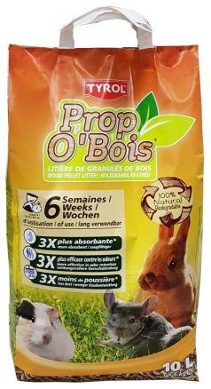 Litière Prop O\'Bois en granulés de bois Tyrol Litière pour rongeur