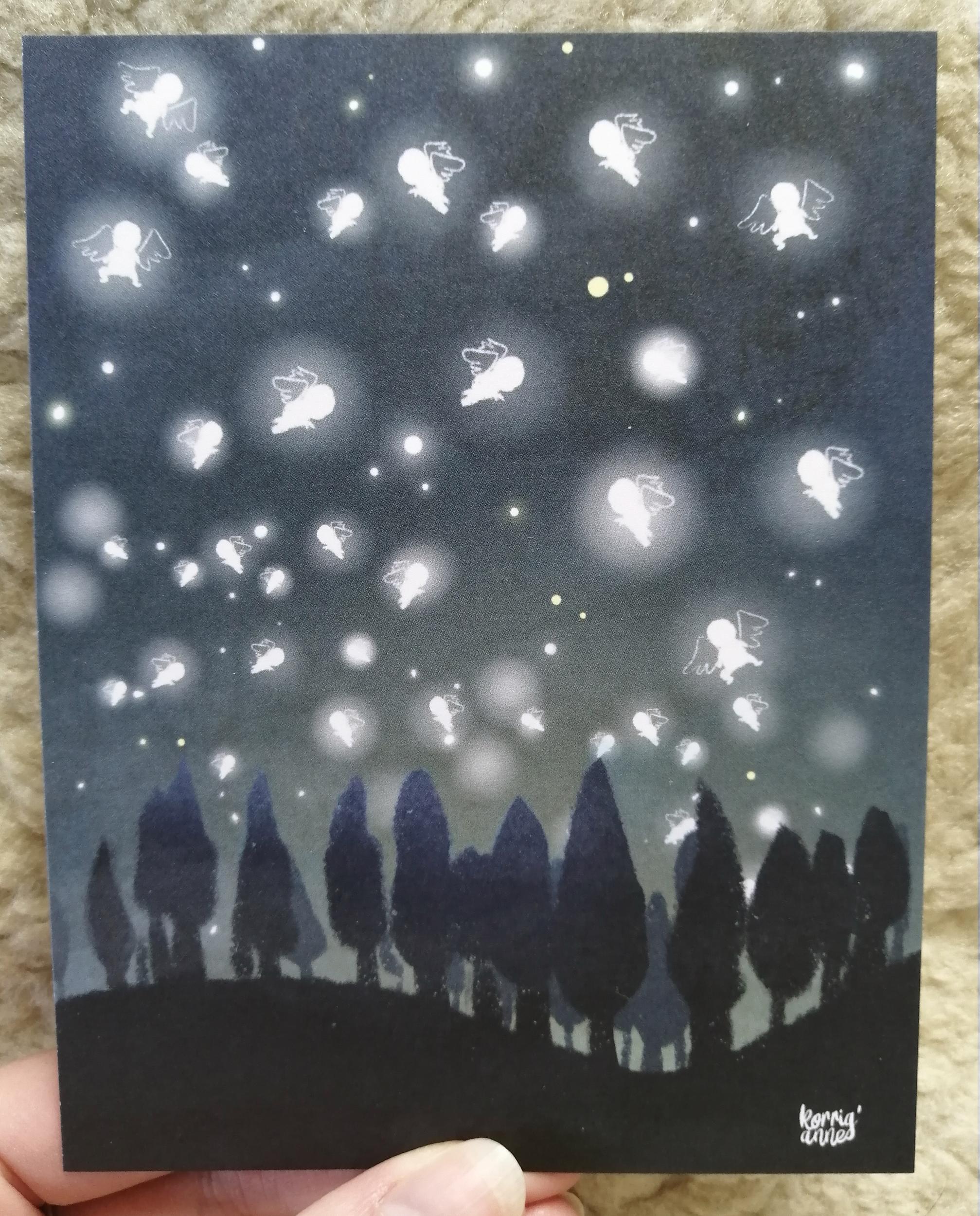 Carte Ciel d\'anges - édition limitée