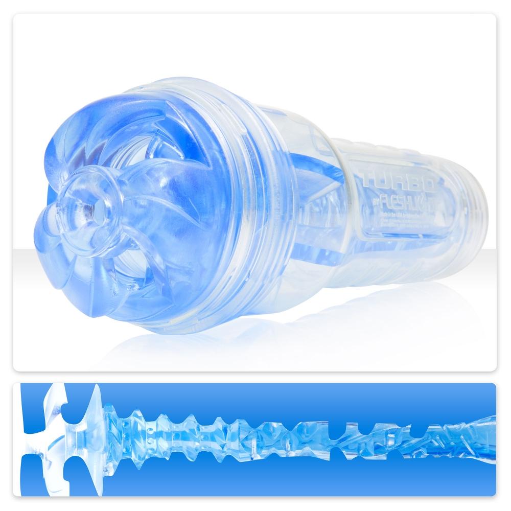 Masturbateur Fleshlight Turbo Thrust Blue Ice