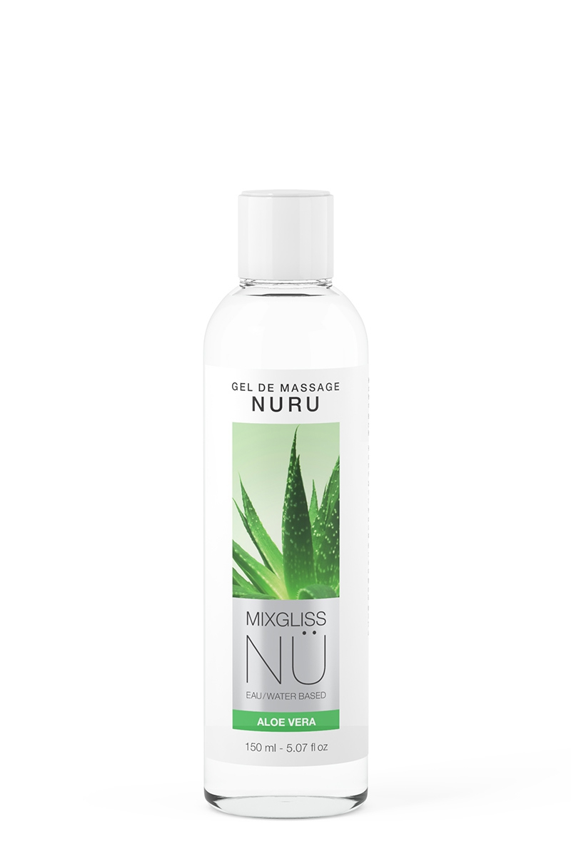 Gel de Massage Nuru NÜ Aloe Vera - 150 ml