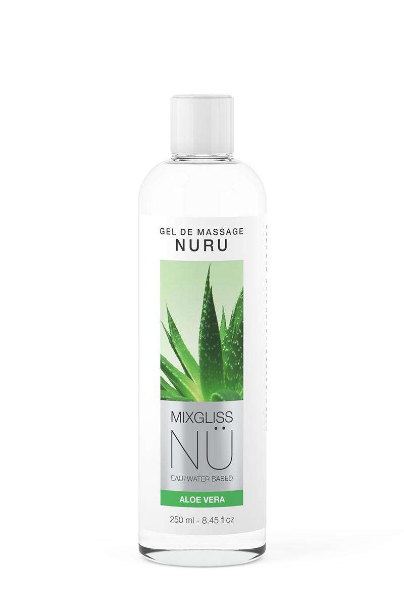 Gel de Massage Nuru NÜ Aloe Vera - 250 ml