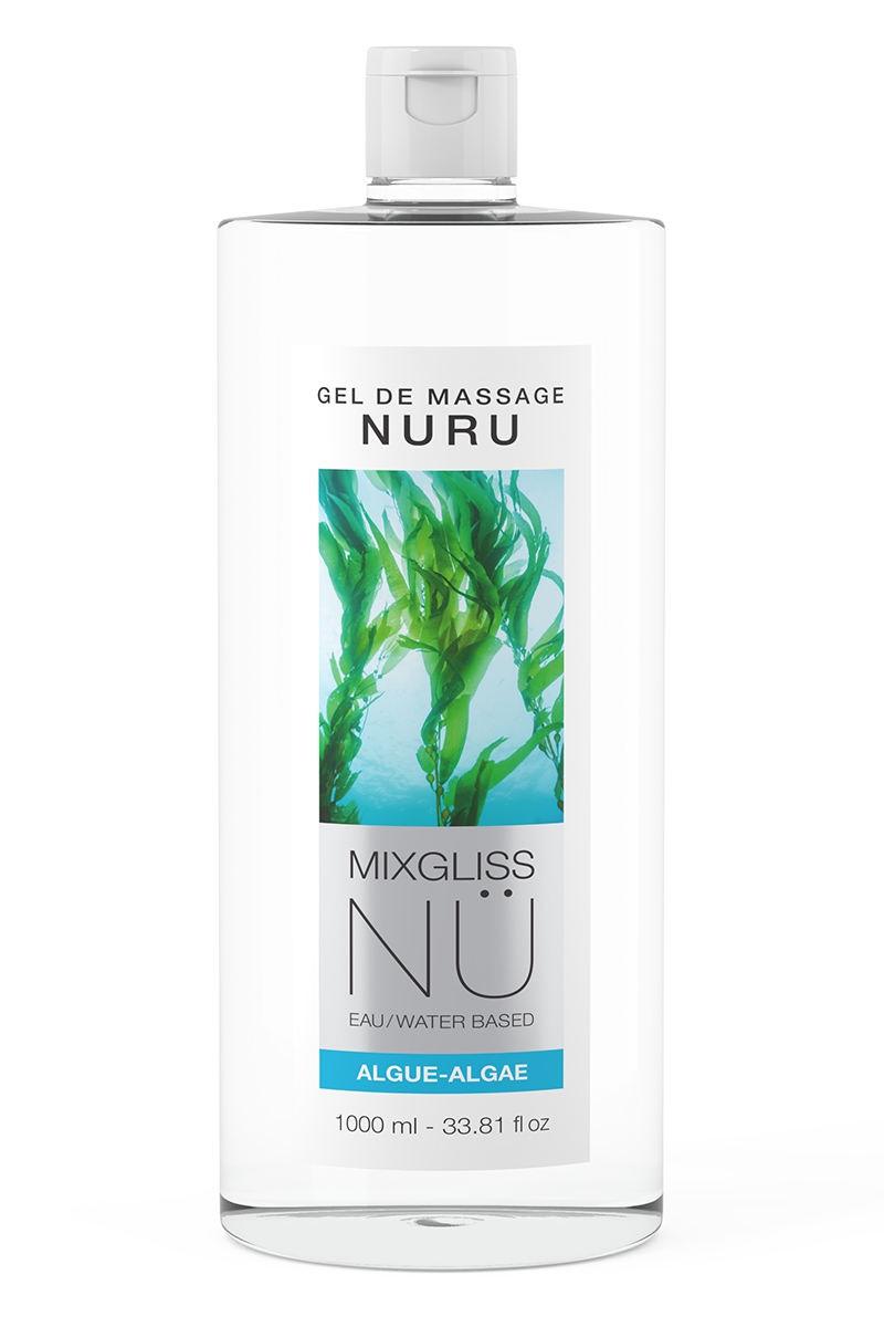 Gel de Massage Nuru NÜ Algue - 1 litre