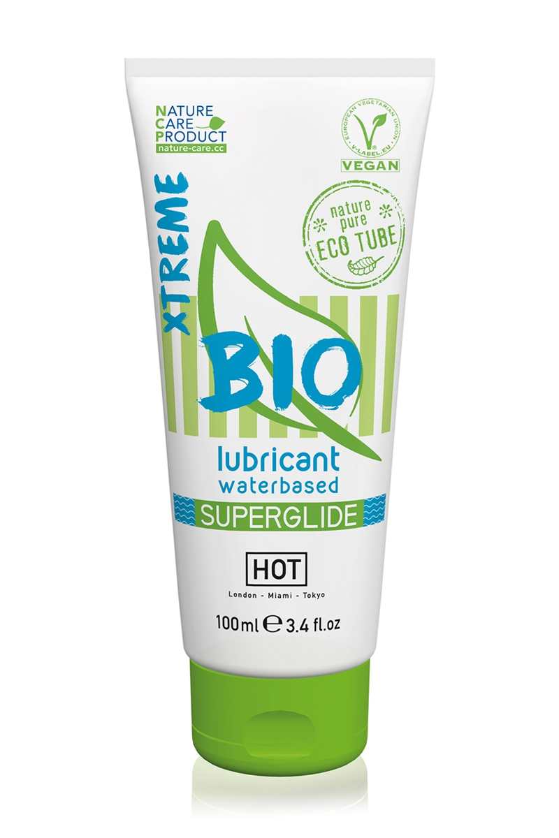 Lubrifiant Eau Bio SuperGlide XTREME 100 ml