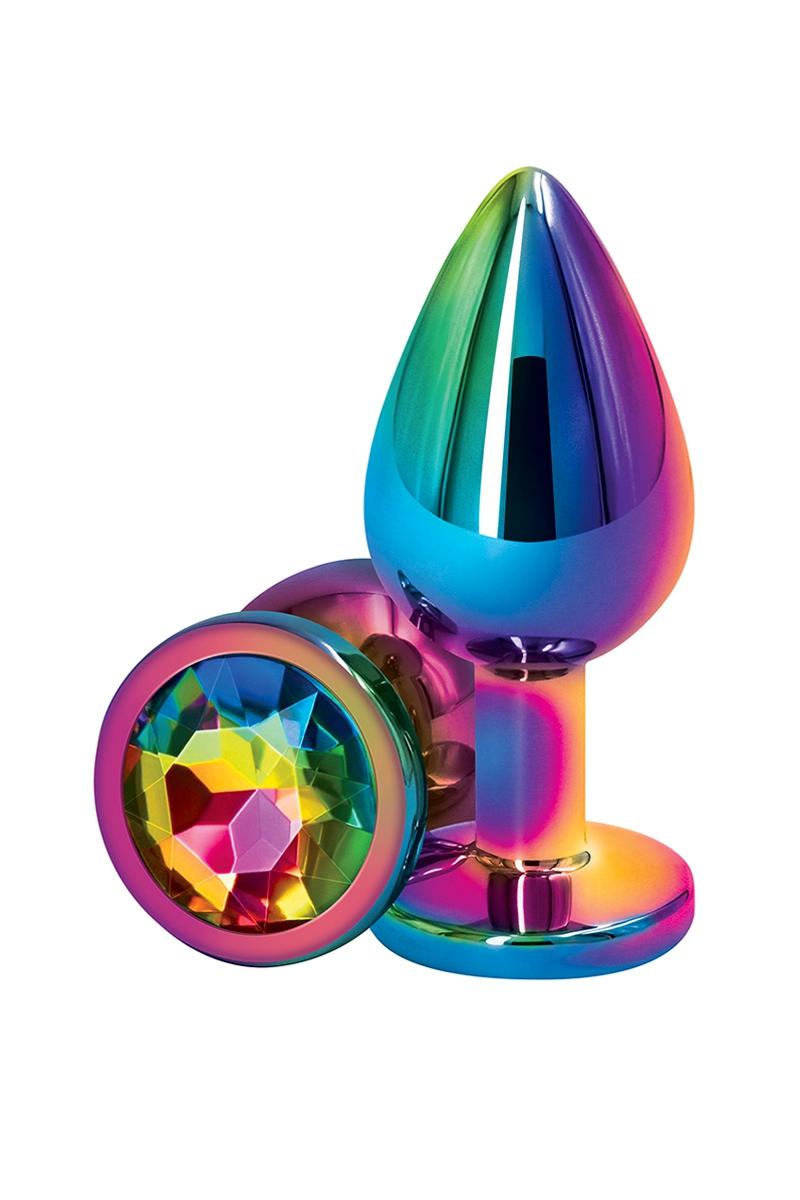 Plug Anal Aluminium Multicolore M