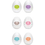 Boite de 6 masturbateurs Tenga Eggs