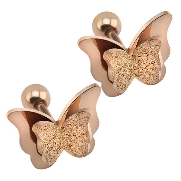 2019-nouveau-papillon-boucles-d-oreilles-couleur-or-Rose-en-acier-inoxydable-boucles-d-oreilles-pour