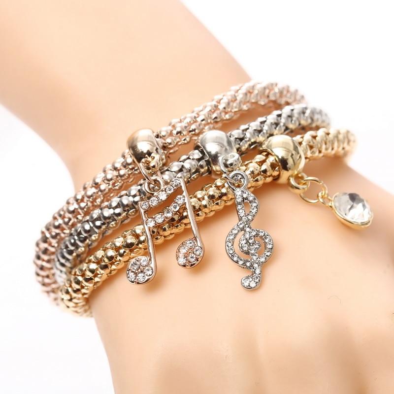 bracelet femme musique