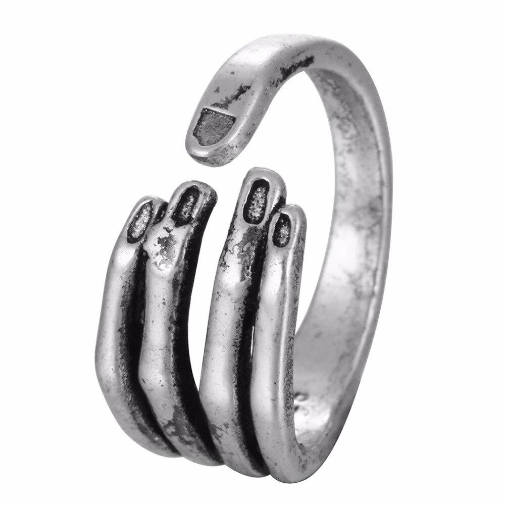 Todorova-Vintage-femme-ouvert-squelette-anneau-gothique-Biker-cr-ne-main-anneau-pour-homme-Punk-homme